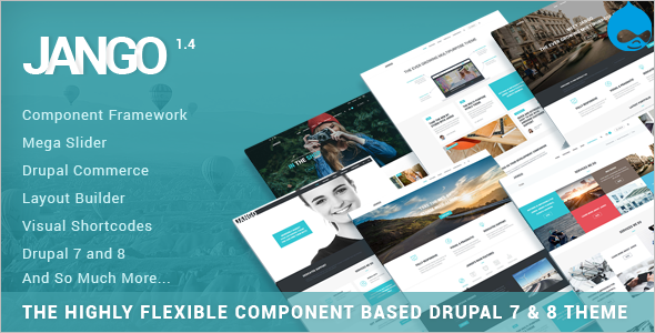 Component Based Drupal 7 & 8 Theme
