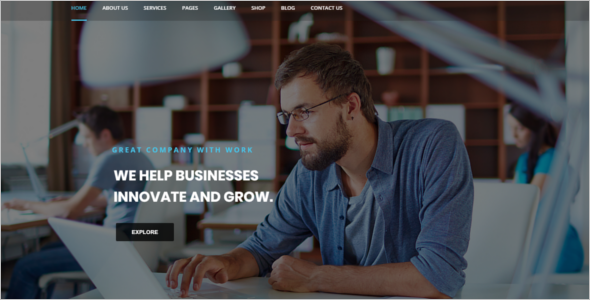 Consultancy WordPress Theme