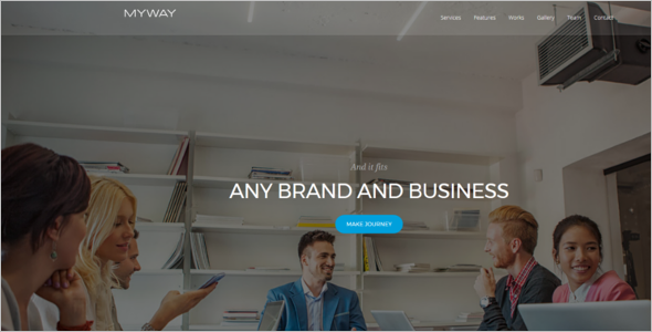 Corporate Agency Joomla Template