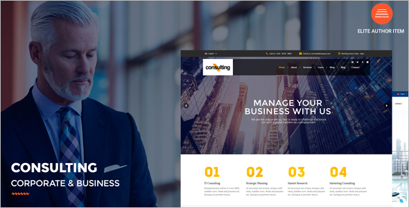 Corporate IT WordPress Theme