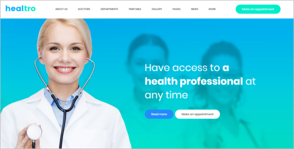Corporate Medical WordPress Theme