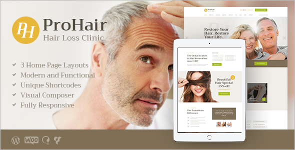 Cosmetology WordPress Theme