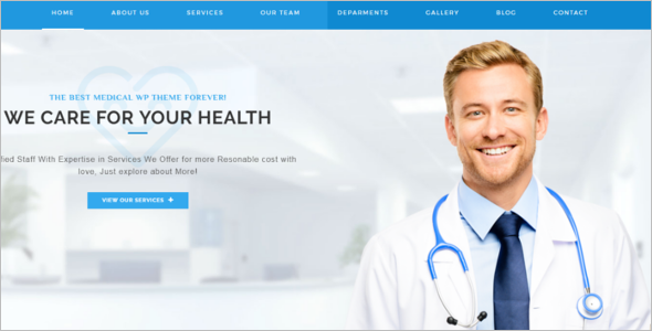 Customizable Medical WordPress Theme
