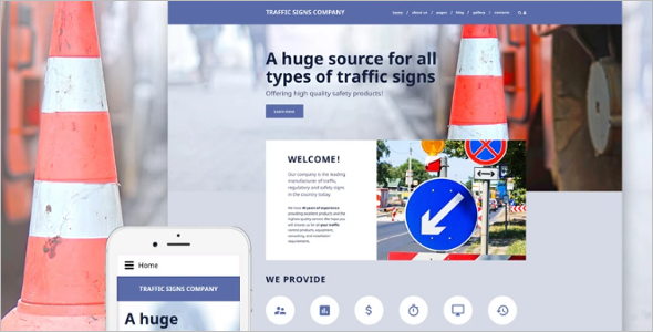 Driving School Joomla Template