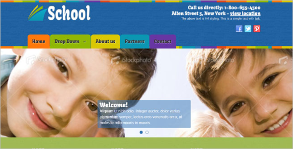 Educational Joomla Theme