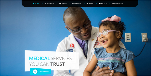 Family Doctor WordPress Theme