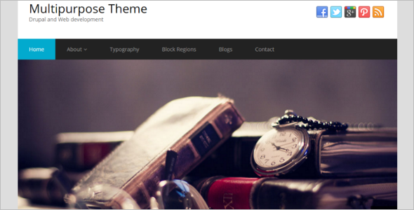 Free Multipurpose Drupal Theme