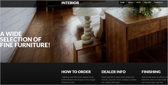 Furniture Drupal Theme