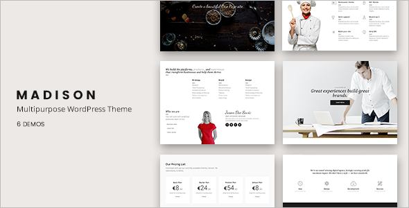 Graphical Designer WordPress Theme