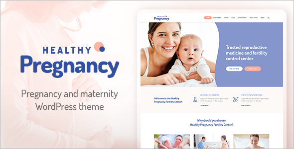 Gynecology WordPress Theme