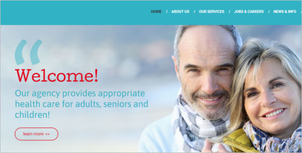 Health Care Drupal Template