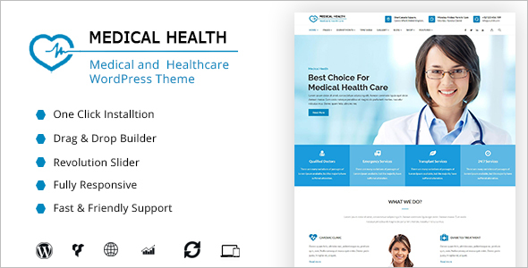Healthcare WordPress Theme