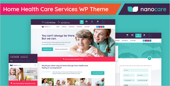 Helthcare WordPress Theme