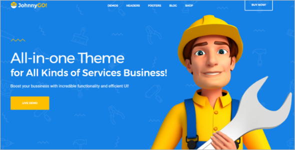 Home Services WordPress Theme