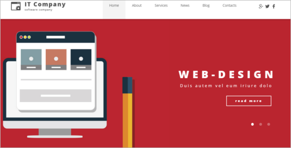 IT Company WordPress Theme