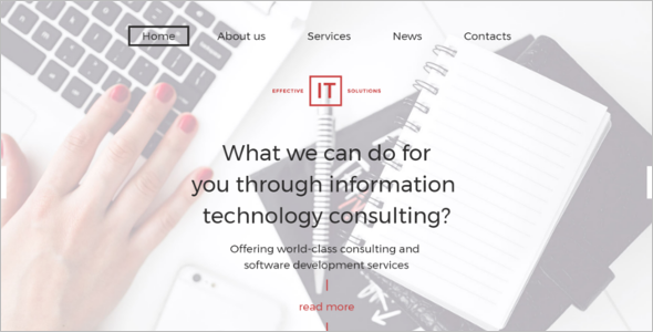 IT Consulting WordPress Theme