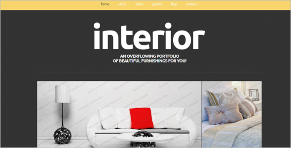 Interior Design Joomla Template