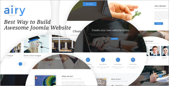 Joomla Website Template