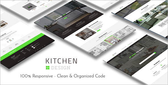 Kitchen Design WordPress Theme