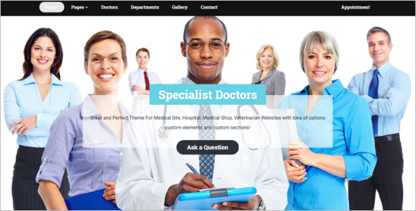 Medical Blog WordPress Theme