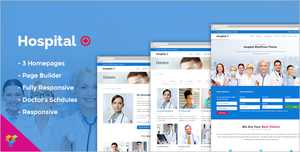 Medical Doctor WordPress Theme