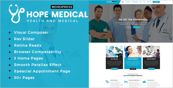 Medical Treatment WordPress Theme