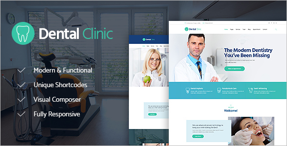 Medicine WordPress Theme