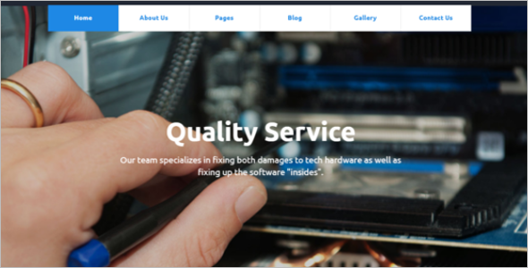 Mobile Repair Service Joomla Template