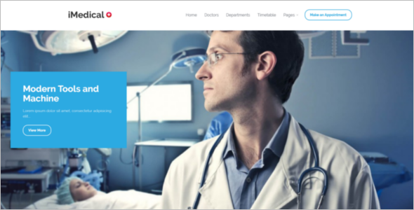 Modern Medical WordPress Theme