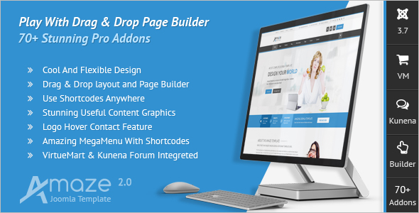 Page Builder Joomla Template