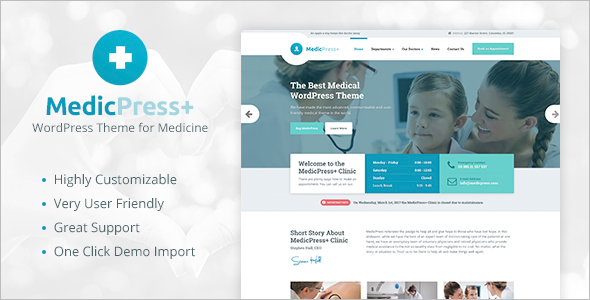 Pediatric WordPress Theme