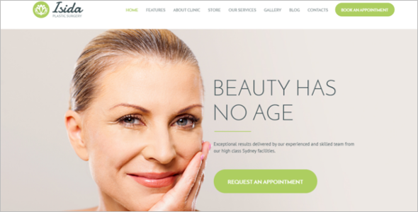 Plastic Surgery Clinic WordPress Theme