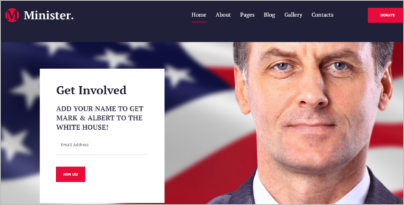 Political Joomla Template