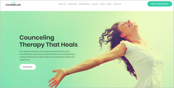 Psychology WordPress Theme
