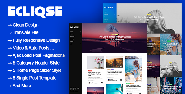 Responsive Blog WordPress Theme