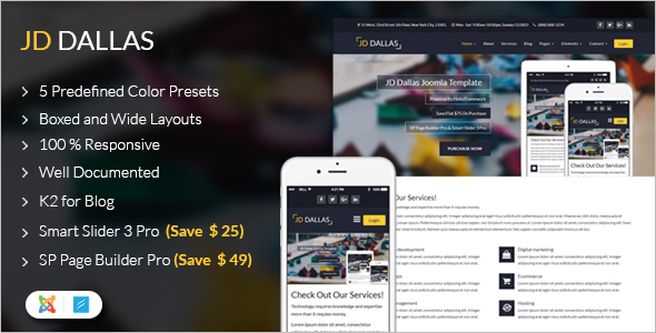 Responsive Business Joomla 3.7 Template