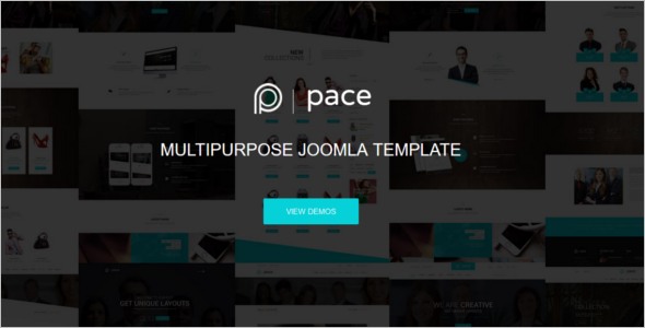 Simple Responsive Joomla Template