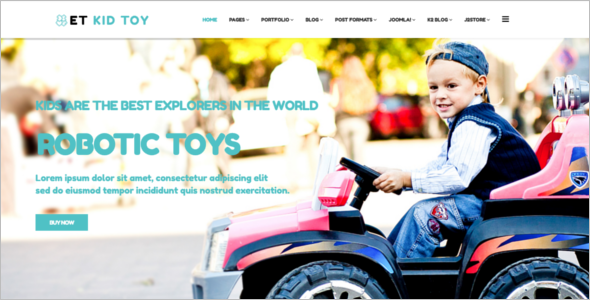 Toy Store Joomla Template