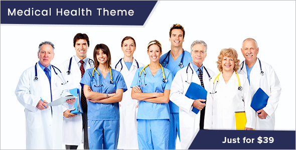Ultimate Health WordPress Theme