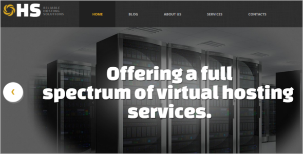 WordPress Hosting Services Theme