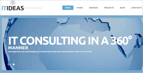 WordPress Information Technology Theme