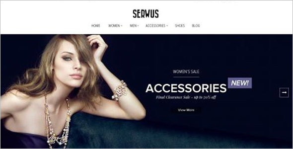 Accessories OpenCart Template