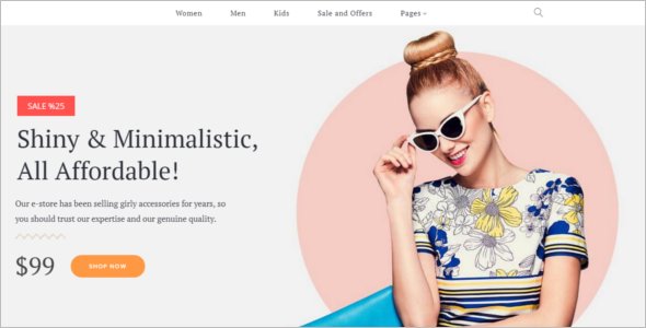 Accessories WooCommerce Template