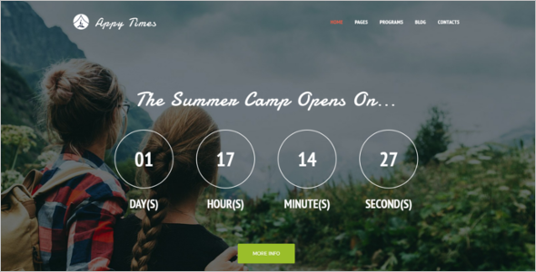 Adventure Camp WordPress Theme