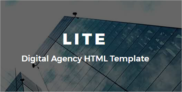 Advertisement Agency HTML Template