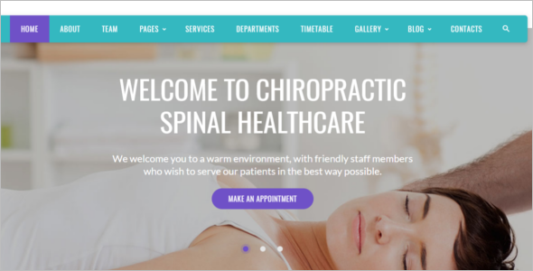 Alternative Medicine Bootstrap Theme