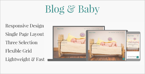 Baby Blog Template