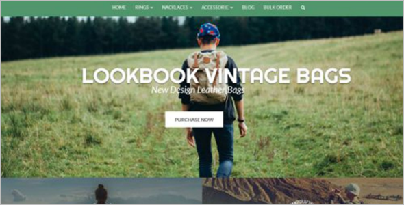 Backpacks Responsive OpenCart Theme