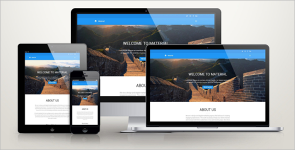 Beautiful HTML Template