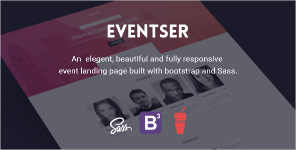 Beautiful Landing Page Template